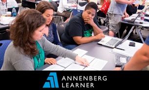 Annenberg Learner is the exclusive sponsor of the 2015 Newseum Summer Teacher Institutes.