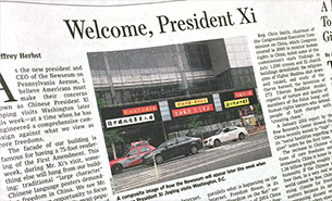 Welcome, President Xi