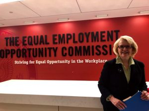 Jill Geisler, Power Shift Project, EEOC