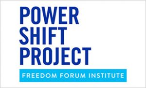 Power Shift Project logo with border