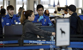 TSA, associated press, government shutdown