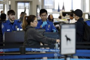 Associated press, TSA, government shutdown
