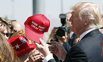 Trump, MAGA, hat, free speech