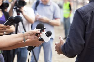 media, news, microphone, press